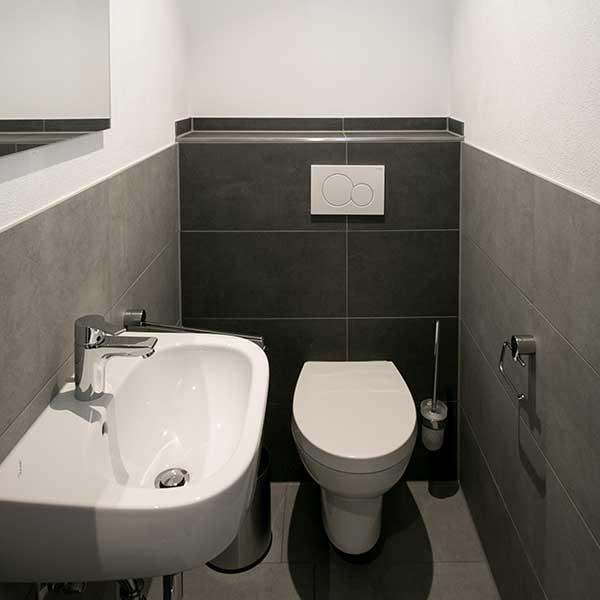 Ferienwohnung, Beispiel WC